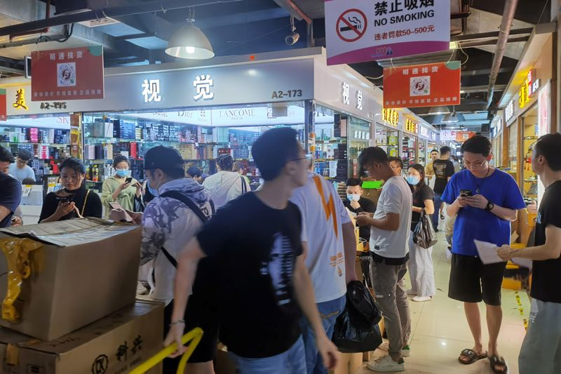 In Shenzhen, the world's largest electronics market gets a cosmetics makeover