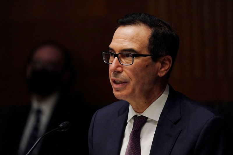 Mnuchin will put clawed-back Fed funds out of Yellen's reach: Bloomberg
