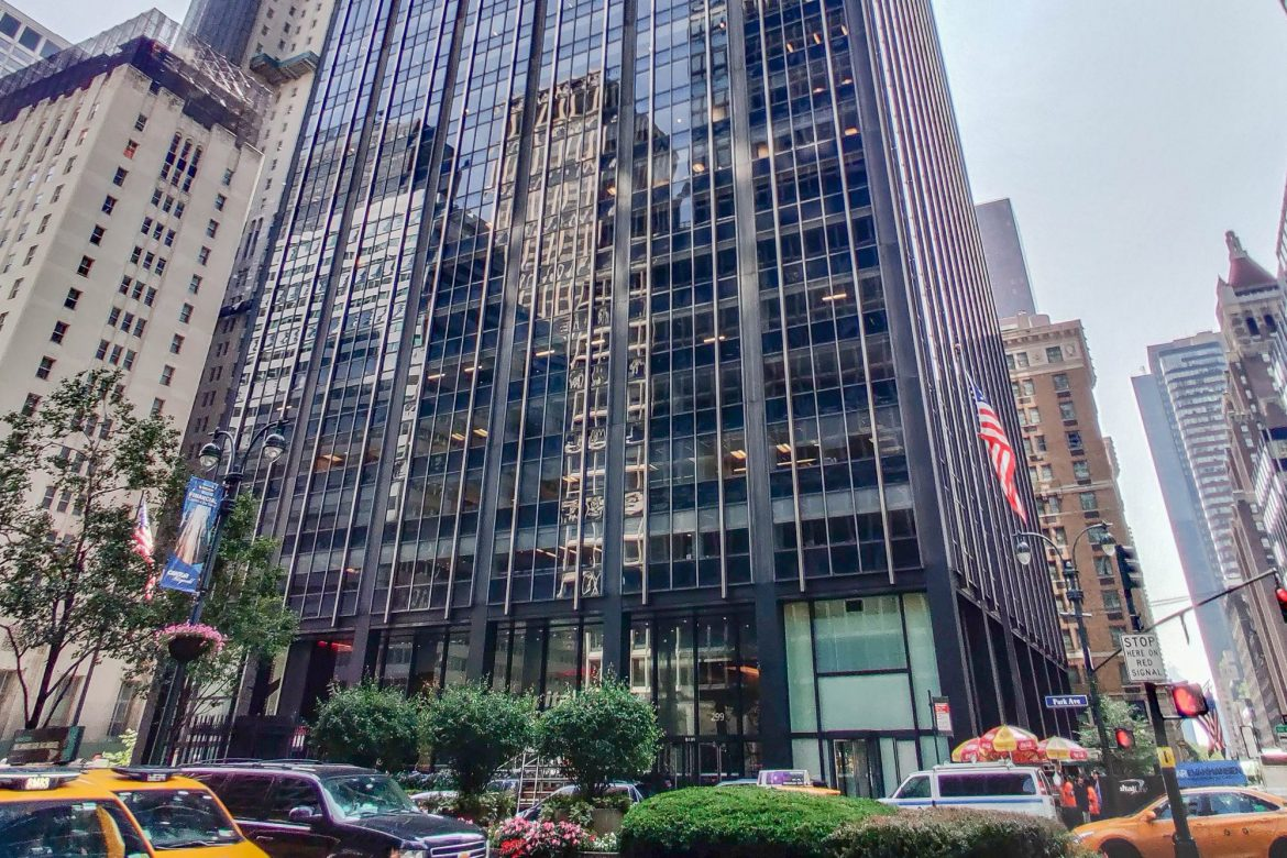 Rent to sublease office space on Park Avenue unbelievably low