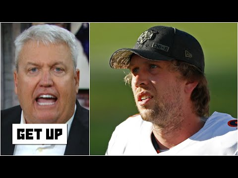 'This is Blake Bortles all over again!' – Rex Ryan's thoughts on Nick Foles & the Bears | Get Up