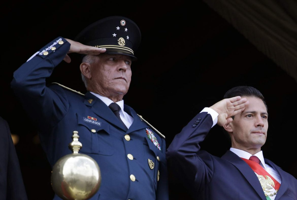 US drops drug trafficking charges against ex-Mexican general