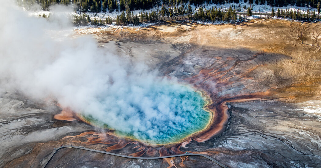 3 Visitors Banned From Yellowstone After Cooking Chickens in Hot Spring