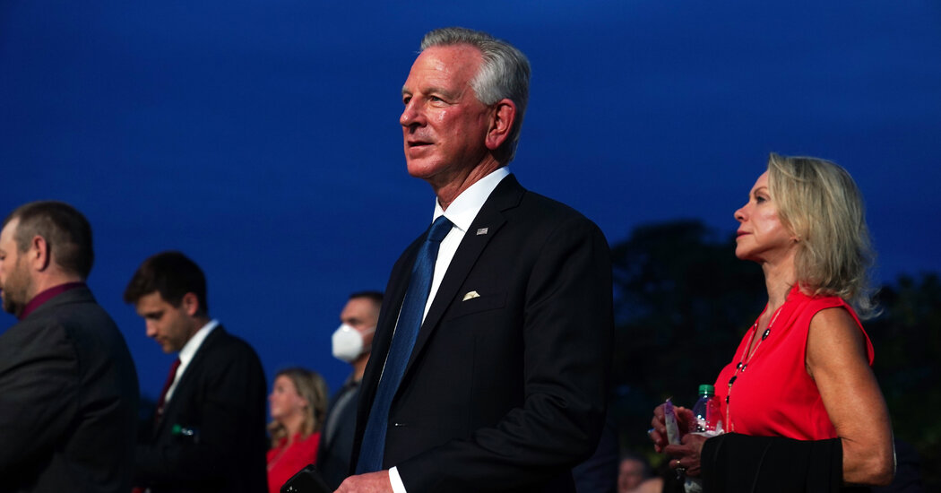 Senator-elect Tommy Tuberville flubs basics of the Constitution, World War II and the 2000 election.