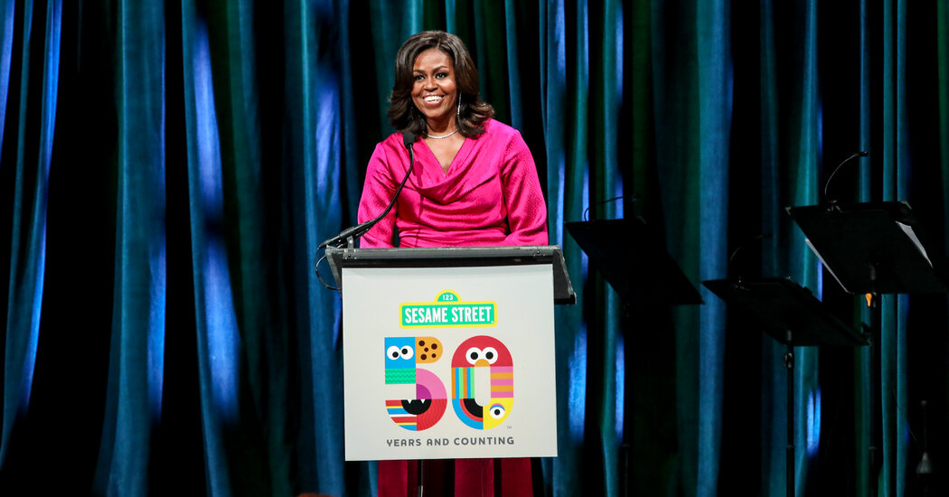 Michelle Obama, who helped Melania Trump in 2016, criticizes the Trumps for hindering Biden's transition.