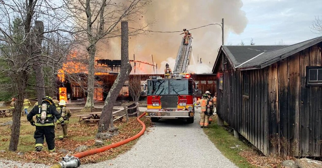 Jacob's Pillow Theater, Site of Dance Festival, Destroyed in Fire
