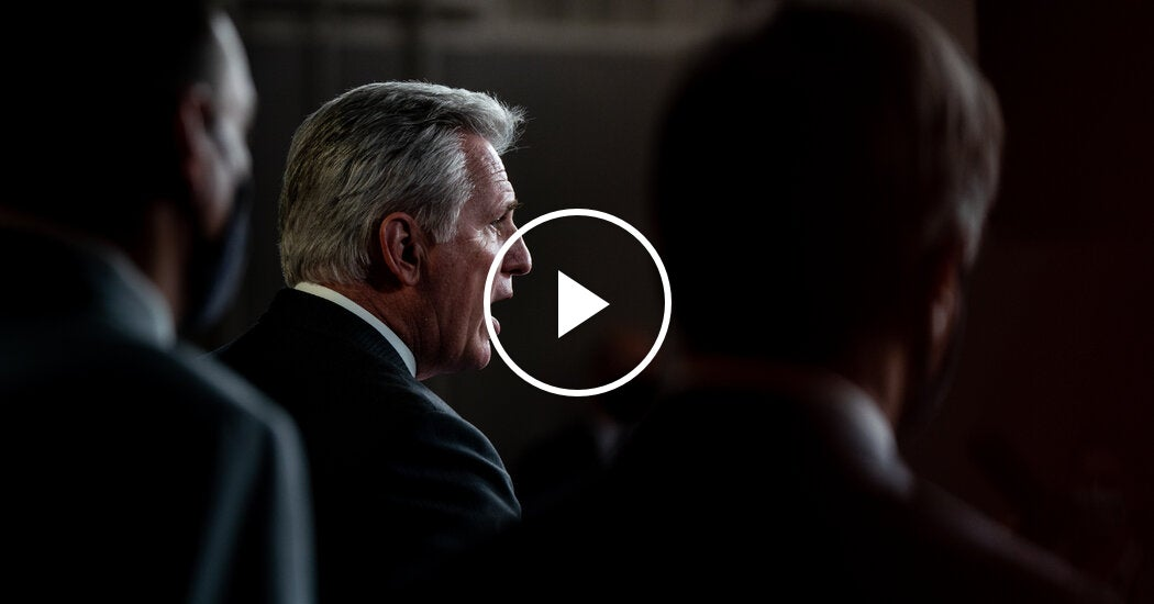 McCarthy Says Trump Has Right to Contact Election Officials