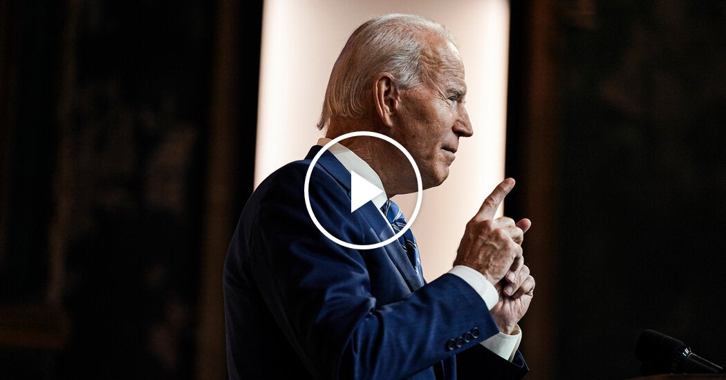 Biden Calls for Unity in Thanksgiving Address