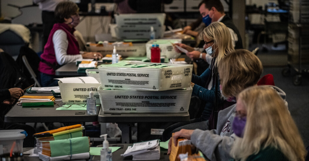 Some Regions Still Experience Slow Delivery of Mail Ballots