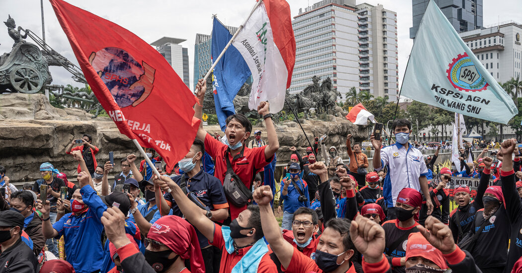 Indonesian President Quietly Signs Divisive Bill Into Law Overnight