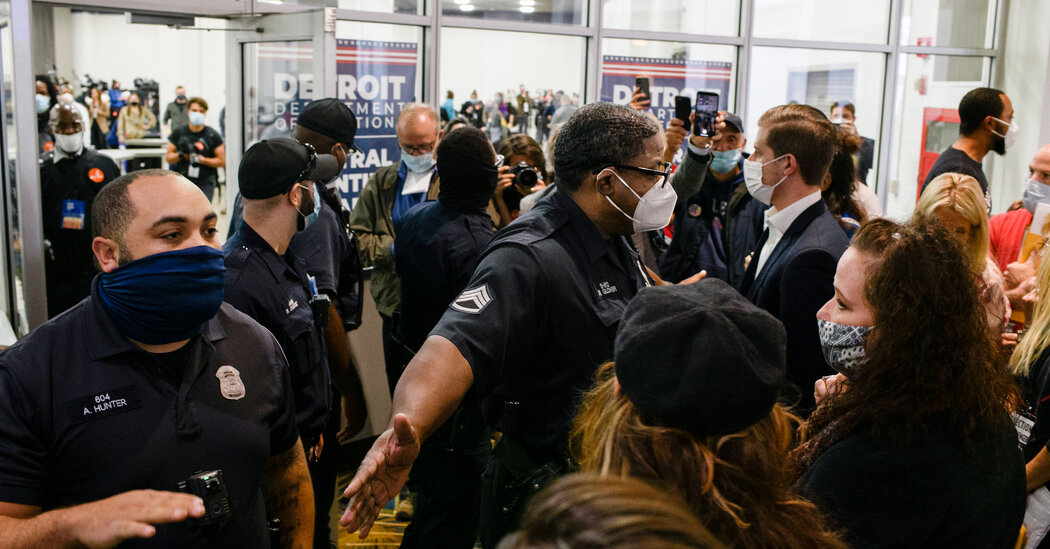 Armed Agents Are Allowed in Ballot-Counting Venues, Justice Dept. Tells Prosecutors