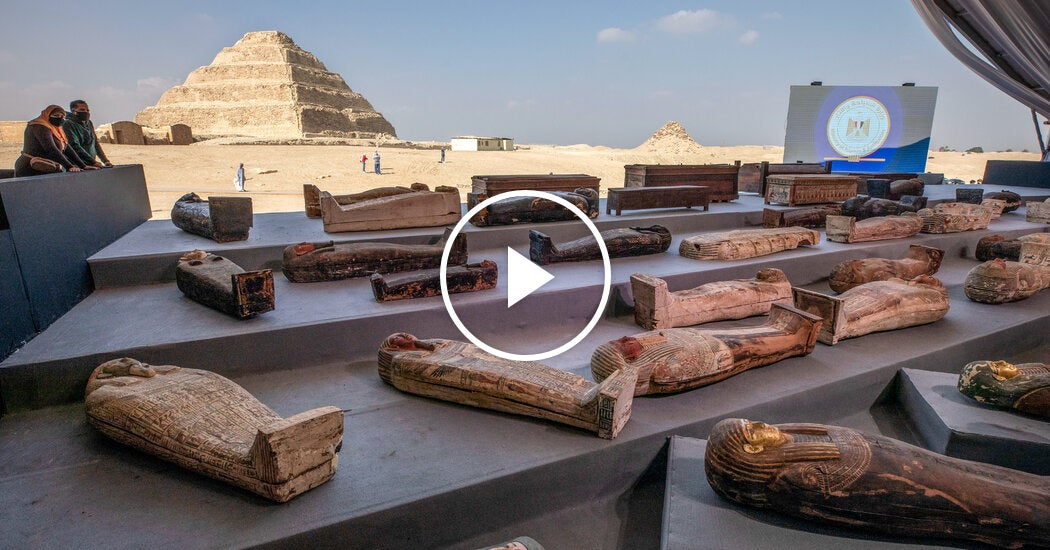 Mummies Discovered in Egypt Necropolis