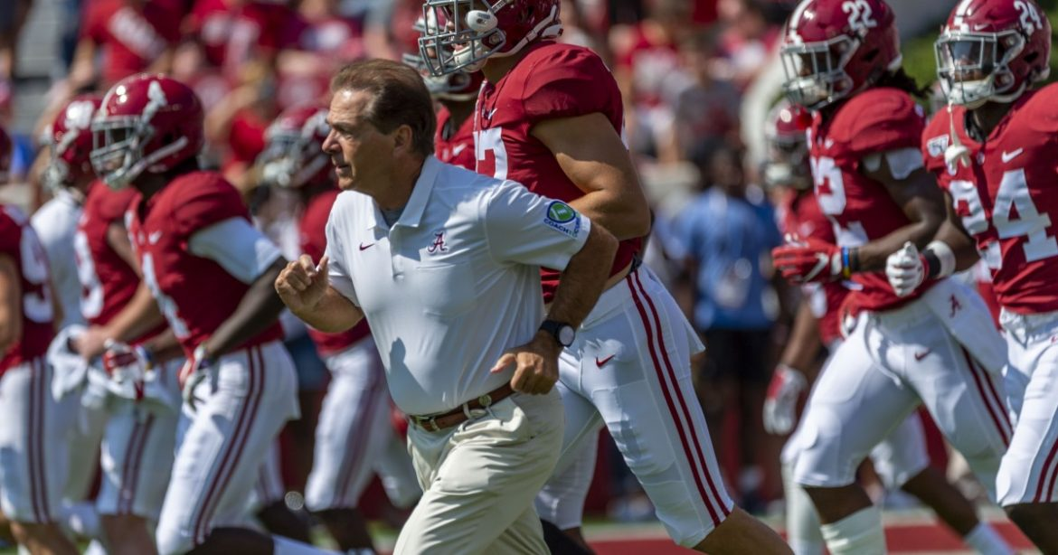 AP Top 25: Alabama is on top again; Notre Dame up to No. 2