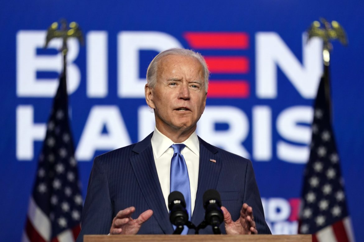 Biden Predicts Victory, Promises to Govern for All Americans