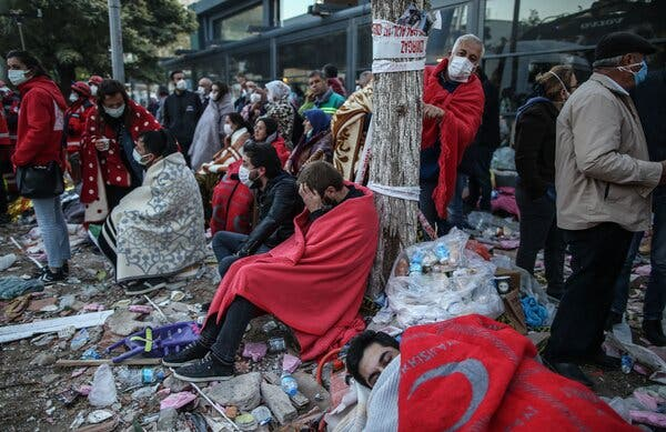 Rescuers Race Against Time to Find Survivors After Quake in Turkey