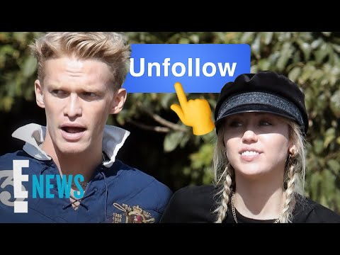 Miley Cyrus & Cody Simpson Unfollow Each Other on Instagram