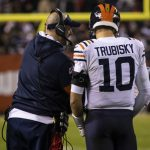 Halas Intrigue Episode 138: Matt Nagy tap-dances around QB question