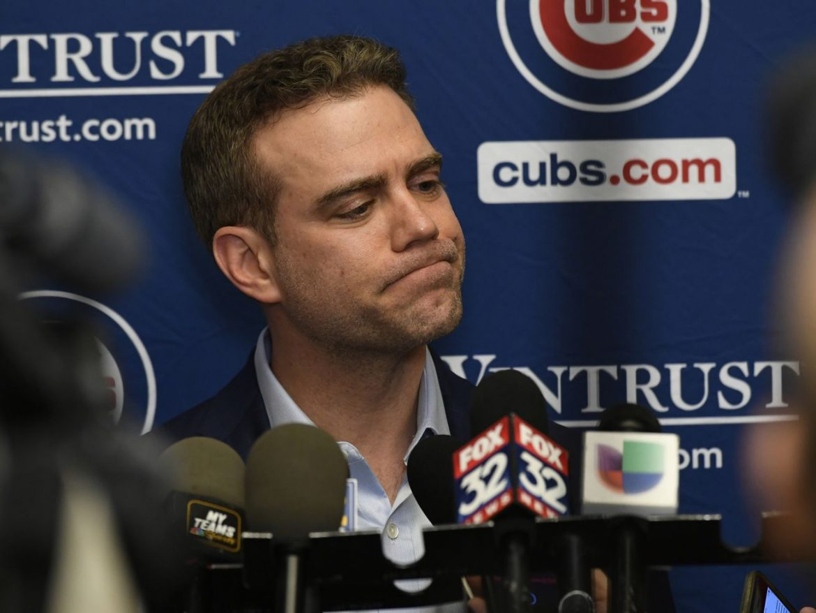 Cubs' Theo Epstein stepping down as President of Baseball Operations