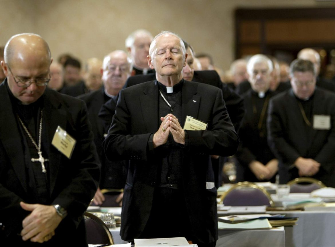 The Latest: Advocate says McCarrick caused incalculable harm
