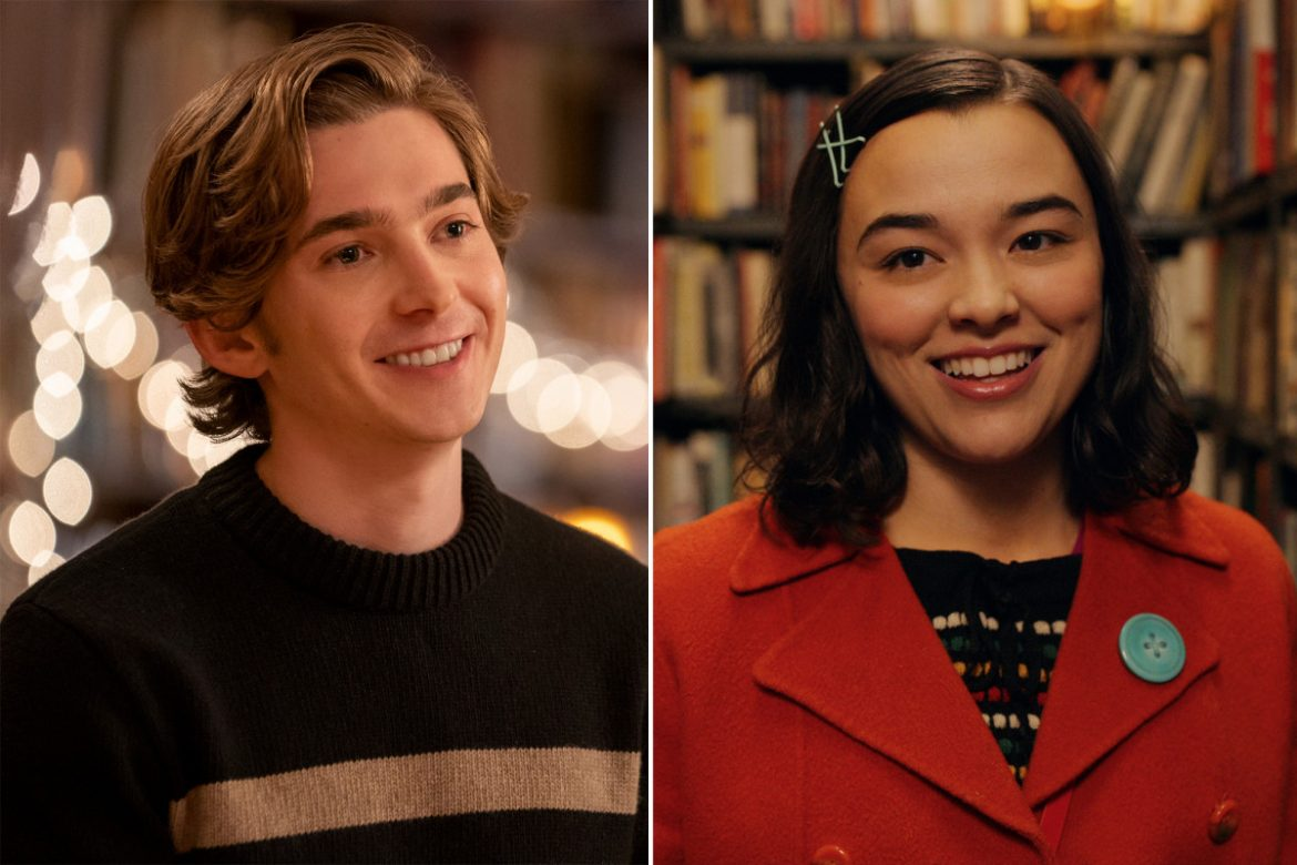 Austin Abrams bonded with 'Dash & Lily' co-star Midori Francis in a special way
