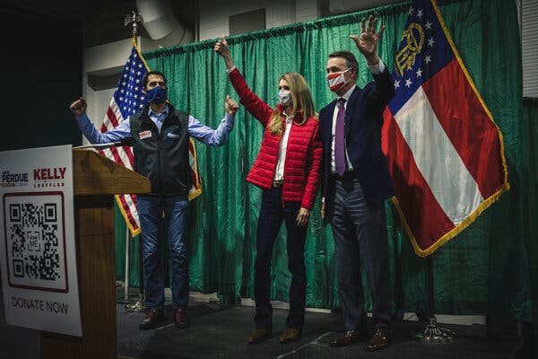 Georgia Is a Purple State, but Don't Expect Centrist Politicians