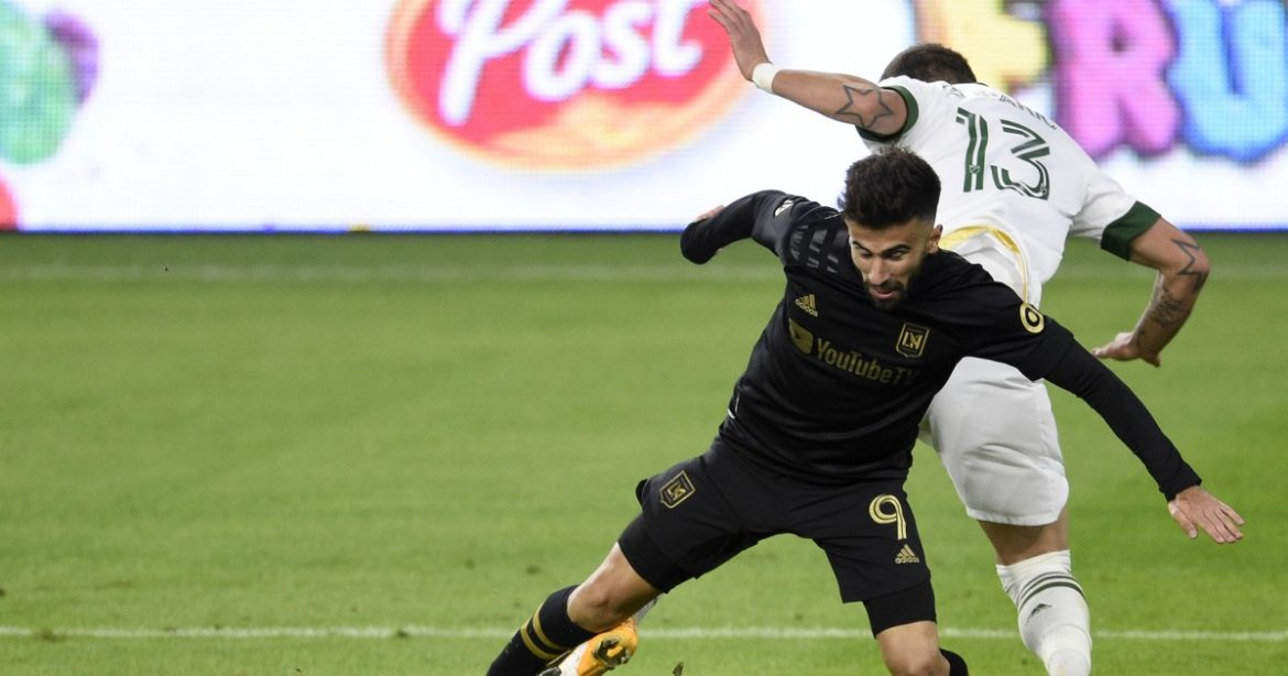 Diego Rossi wins Golden Boot award after LAFC's 1-1 draw with Portland