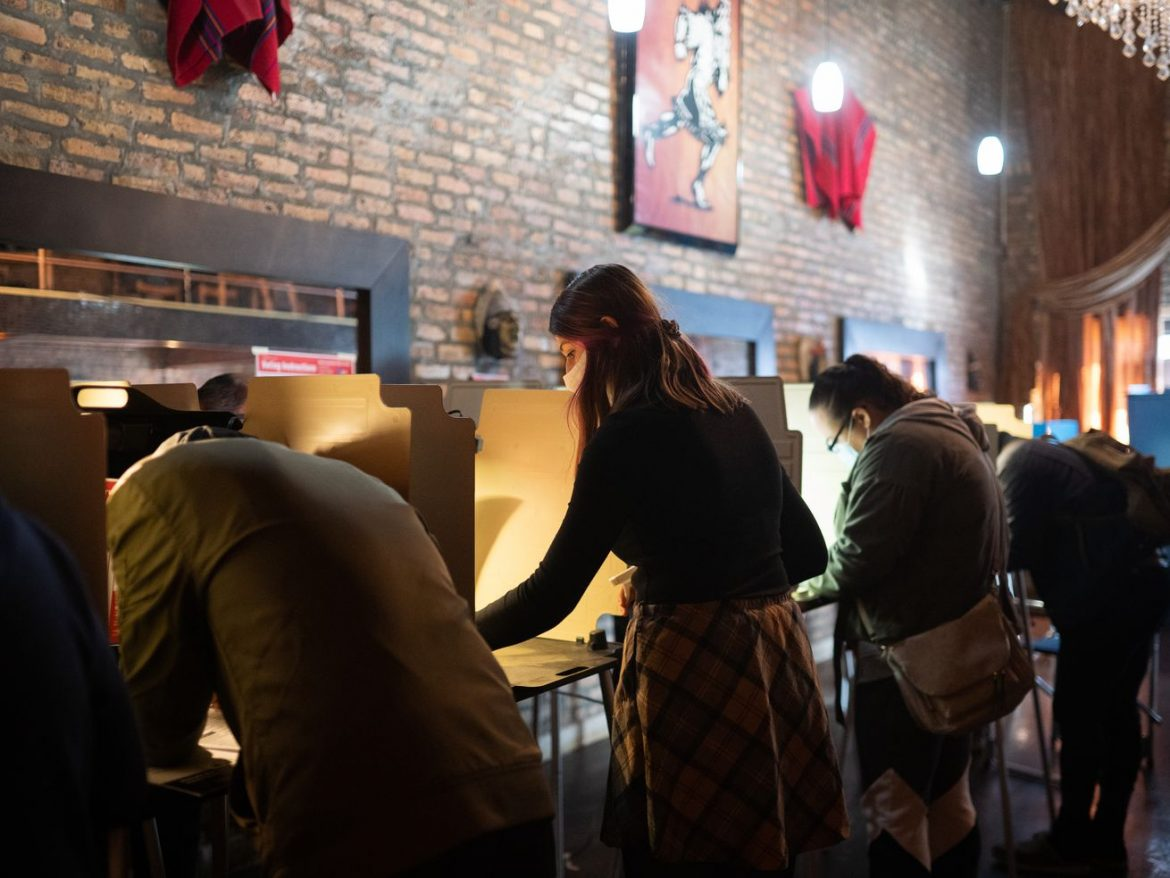 Nerves — and relief — as voters hit polls in city, suburbs: 'There might be a silver lining in all this'