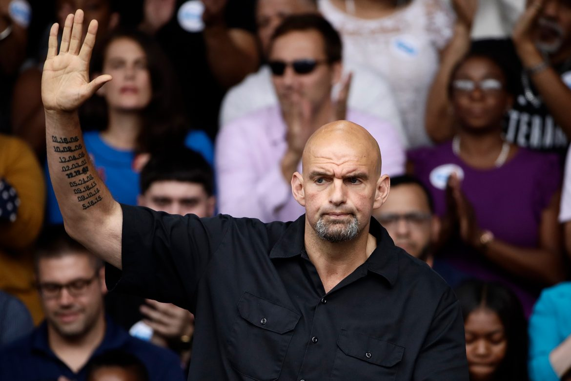 Big John Fetterman Can Save the Democratic Party — if the Democrats Let Him