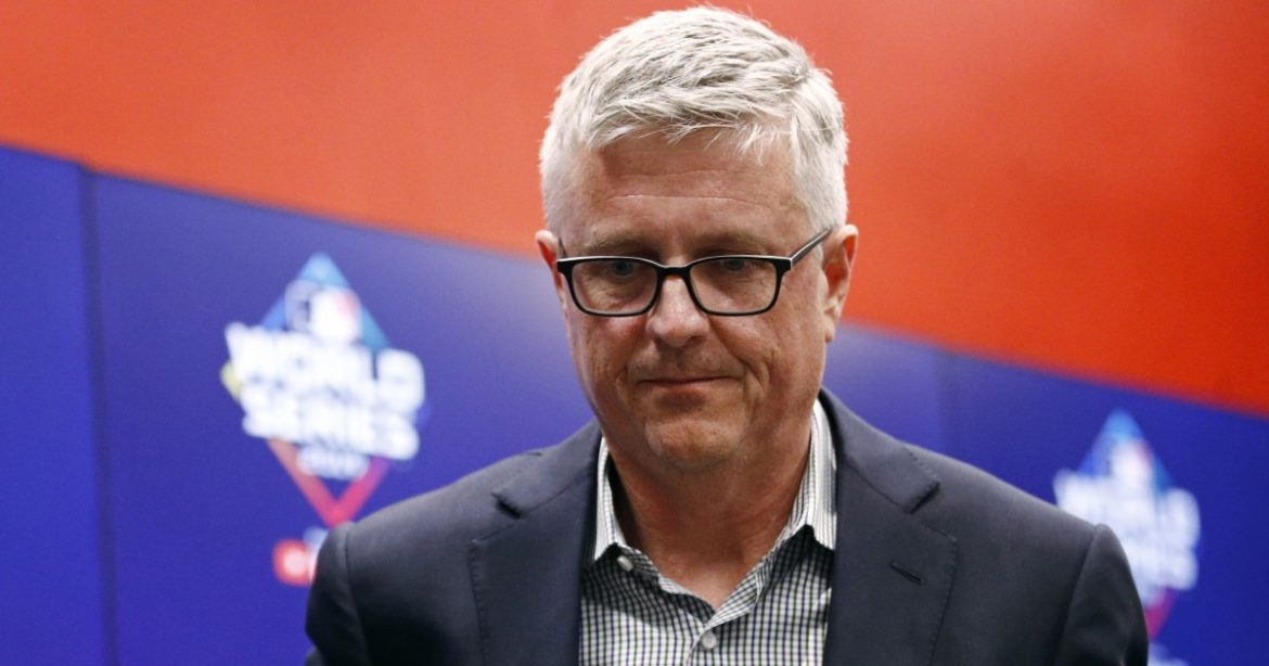 Ex-Astros general manager Jeff Luhnow, fired after sign-stealing scandal, sues team