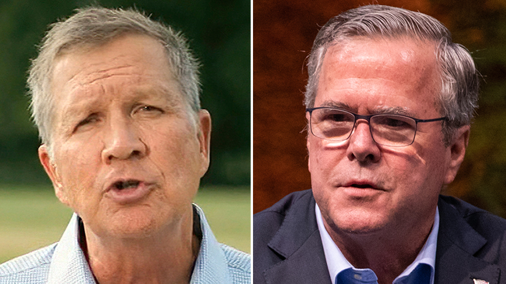 Former Trump rivals Jeb Bush, John Kasich congratulate Biden on projected election victory