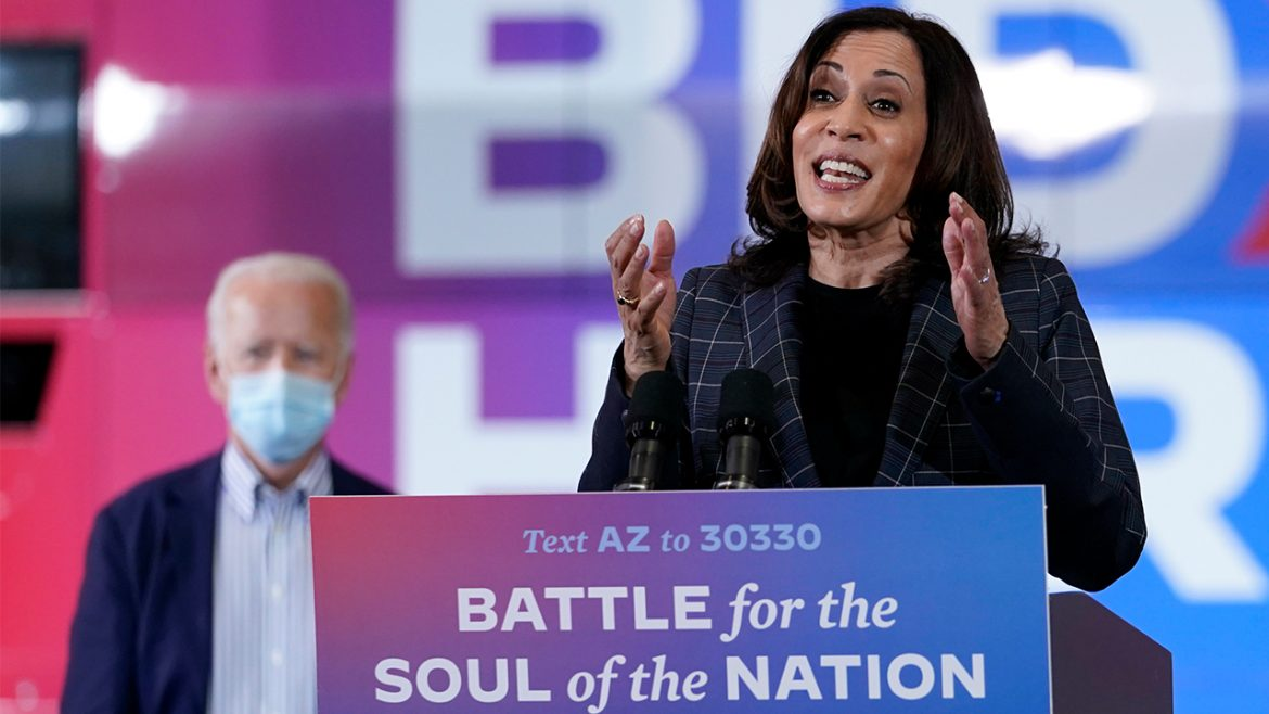 Harris: American voters chose 'hope, unity, decency and yes, truth'