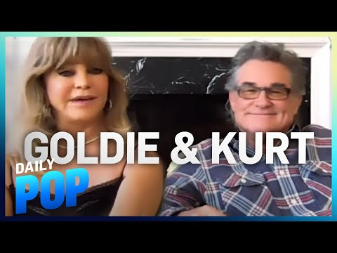 Kurt Russell & Goldie Hawn Talk New Christmas Film & Traditions | Daily Pop | E! News