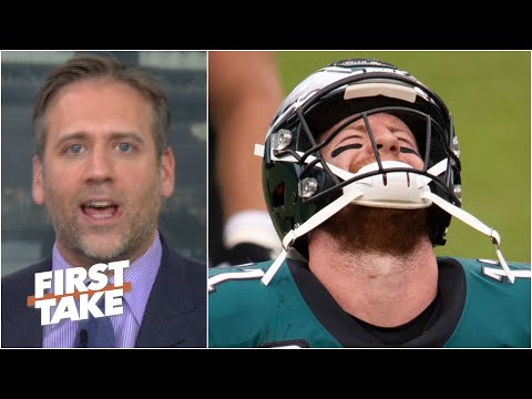 Carson Wentz will never be a great QB & he's getting paid over $100M!- Max Kellerman   First Take