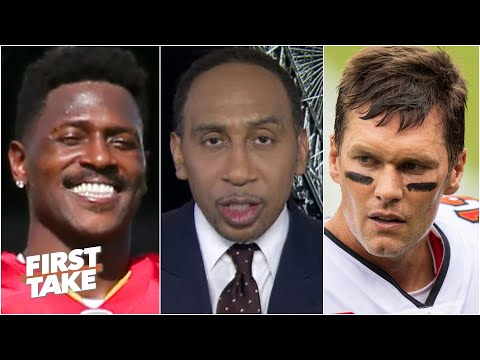 The pressure is on Tom Brady & the Bucs in Week 9, not Antonio Brown – Stephen A. | First Take