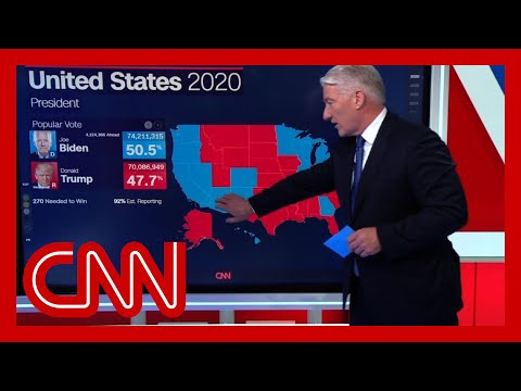 Why CNN hasn't projected an election winner yet