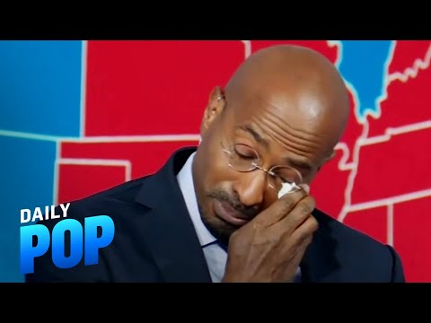 Van Jones Cries Over 2020 U.S. Election Results | Daily Pop | E! News