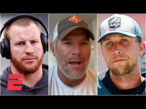 Reacting to Brett Favre saying the Eagles should have went with Nick Foles over Carson Wentz | KJZ
