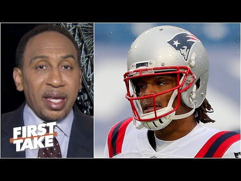 Cam Newton will be out of the NFL 'sooner than later' – Stephen A. | First Take