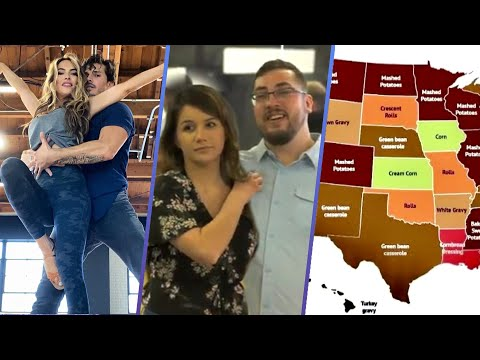 """""""DWTS"""" Hookups, Mom & Son Sexy Dance and Thanksgiving Dishes"""