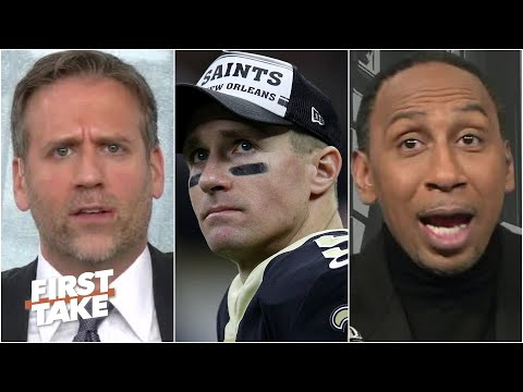 Stephen A. & Max get heated debating whether Drew Brees is still elite | First Take