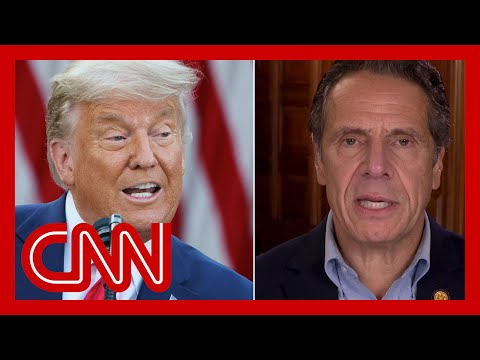 Trump threatens to deny New York a vaccine. See governor's response