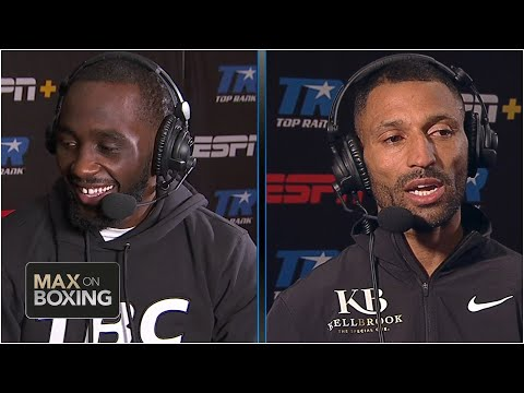 Terence Crawford and Kell Brook trade war of words ahead of fight | Max on Boxing