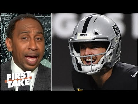 Stephen A.: 'I like what I see' from Derek Carr & the Raiders | First Take