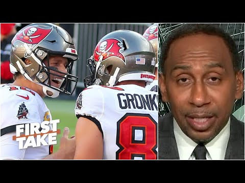 Stephen A. highlights Tom Brady's offense as the key to the Bucs' success | First Take