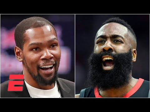 Stephen A. calls in to talk James Harden to the Nets | KJZ