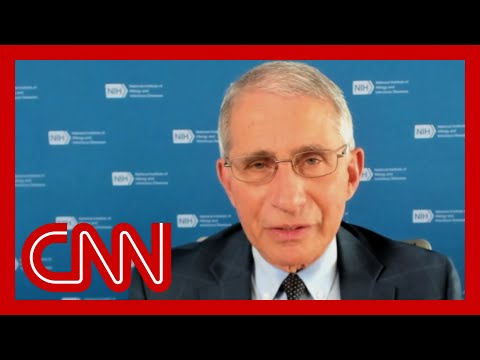 Hear Dr. Fauci's 'best words of hope' before holiday season