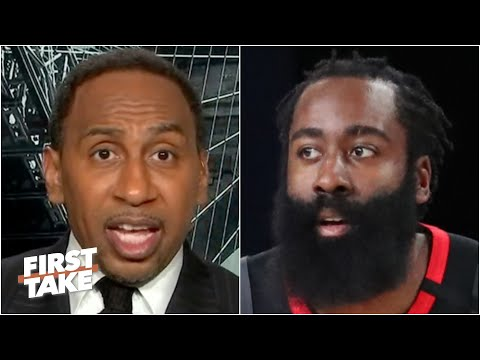 Stephen A. expects the Nets to win a title if they acquire James Harden | First Take