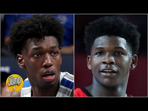 Anthony Edwards or James Wiseman: Who has the higher ceiling? | The Jump