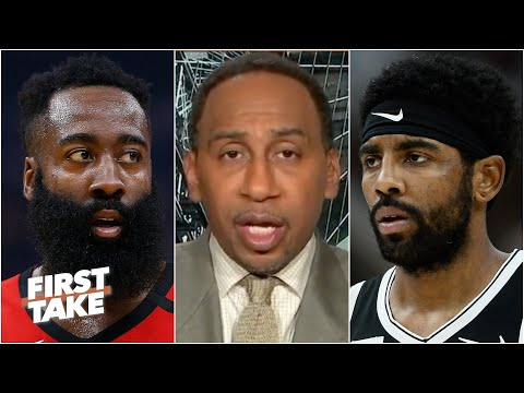 The Rockets trading James Harden for Kyrie Irving would be a bad move – Stephen A. | First Take