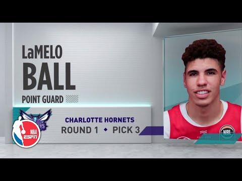 LaMelo Ball drafted No. 3 overall by the Charlotte Hornets | 2020 NBA Draft