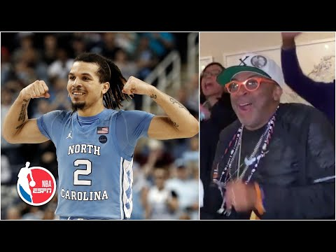 Spike Lee celebrates Cole Anthony getting drafted No. 15 overall by the Magic | 2020 NBA Draft